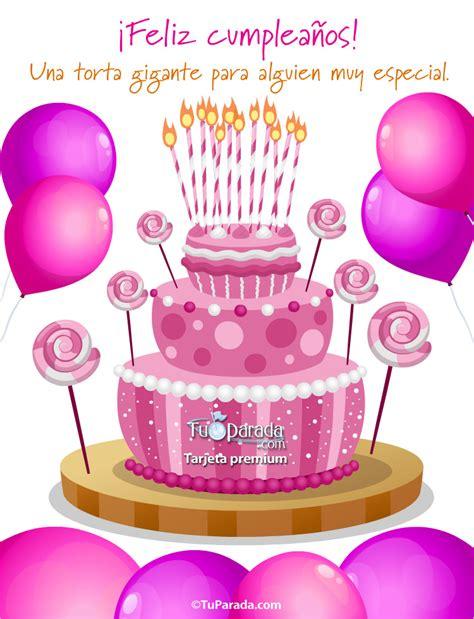 imagenes feliz cumpleaños veronica torta rosa con globos im 225 genes de cumplea 241 os tarjetas
