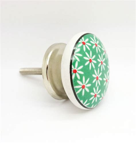 Ceramic Knobs by Daisies Bed Ceramic Cupboard Drawer Pull Handle Knob By G