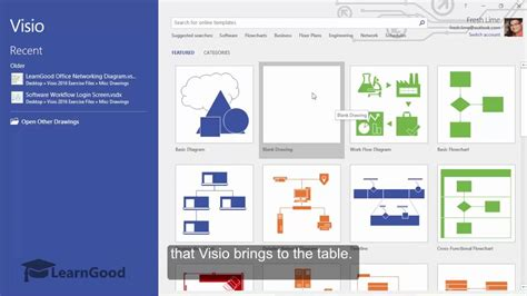 ms visio tutorials microsoft visio tutorial a look at visio 2016 ui