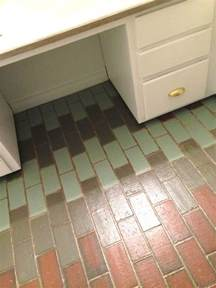 painted faux saltillo tiles home