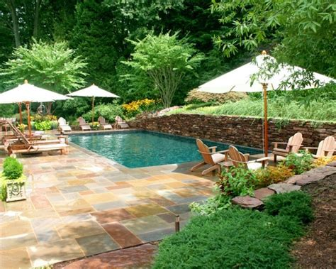 Landscape Design With Pool 30 Ideas For Wonderful Mini Swimming Pools In Your Backyard