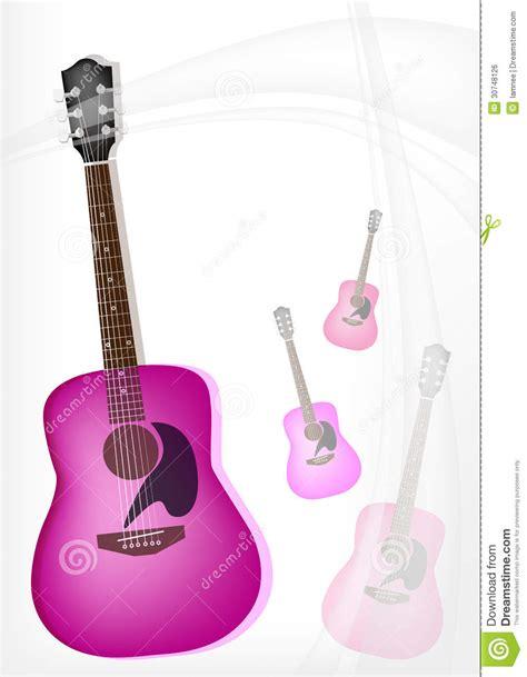 girly guitar wallpaper a pink guitar on modern elegance background stock photo