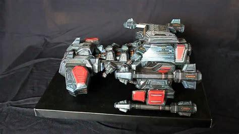 Starcraft Papercraft - starcraft 2 battlecruiser papercraft