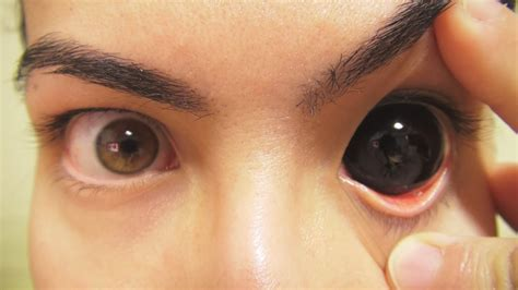 how to put in colored contacts how to insert and remove black sclera contact lenses