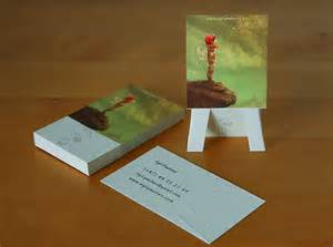 creative artist business cards easel cards for artists creative business card