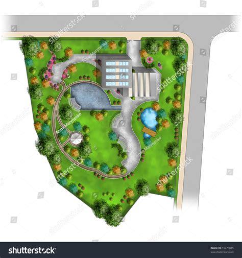 Landscape Design Paper Landscape Design Plan Of Plot High Resolution