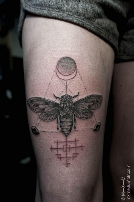 geometric realism tattoo 45 realistic moth tattoos
