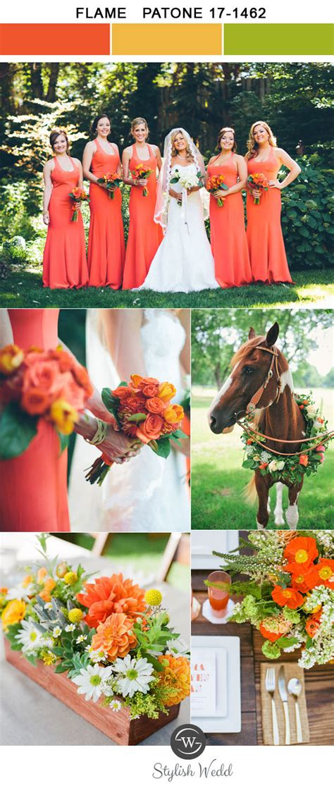 wedding colors for summer top 10 wedding colors for 2017 inspired by pantone