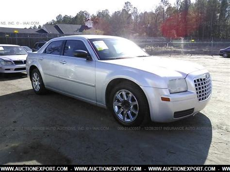 chrysler car for sale used 2007 chrysler 300 car for sale at auctionexport
