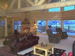 beautiful log home interiors highland custom log home builders custom log homes and