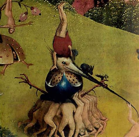 Jb29 B hieronymus bosch lifting bird garden of earthly delights jb jb29 parastone