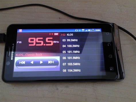 android radio tip the droid bionic has fm radio tune in using the droid 3 radio apk