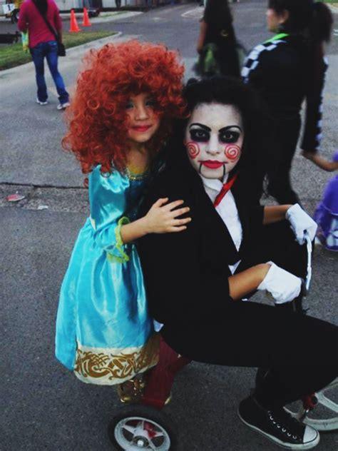 minute diy jigsaw costume