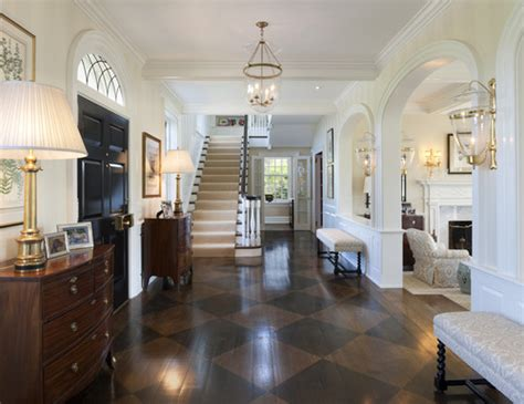 Nice Long Dining Room Light Fixtures #6: Traditional-entry.jpg
