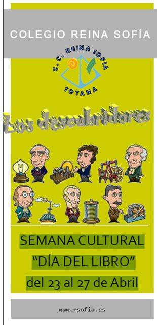 libro algn da totana com el colegio reina sof 237 a celebra su semana cultural quot d 237 a del libro quot del 23 al 27 de