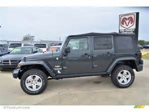 Charcoal Jeep Wrangler Unlimited Charcoal Pearl 2010 Jeep Wrangler Unlimited