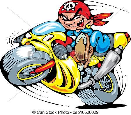 Speichenr Der Motorrad by Vektor Illustration Motorrad Meister Junger Junger