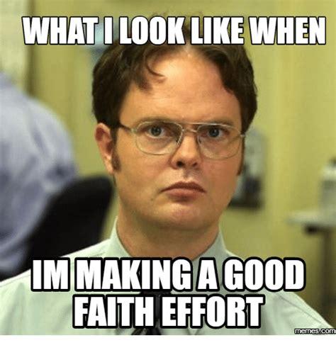 A For Effort Meme - effort excellence memescom effort meme on me me