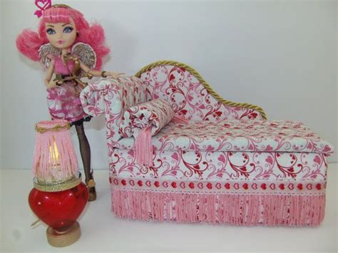 Afters Handcrafted - furniture for after high dolls handmade chaise lounge