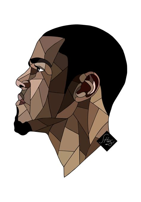 J Cole Drawing Easy by With Shaz M O W