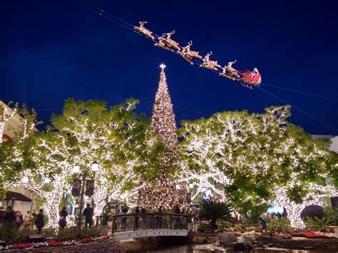 where to see holiday lights in los angeles 2017