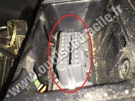 obd connector location  volvo    outils obd facile