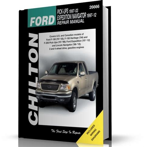 haynes ford pickup 1997 2003 expedition lincoln navigator 1997 2012 repair manual ford pick ups ford eexpedition lincoln navigator 1997 2012 chilton