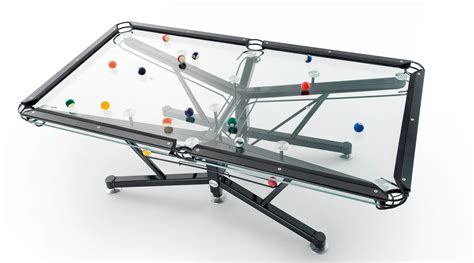 nottage design g1 glass pool table international property travel