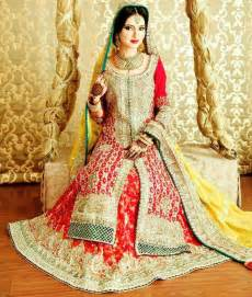 Latest pakistani bridal wear dresse 10