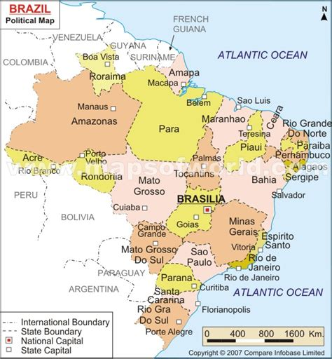 brazil map with cities brazil map and brazil satellite images