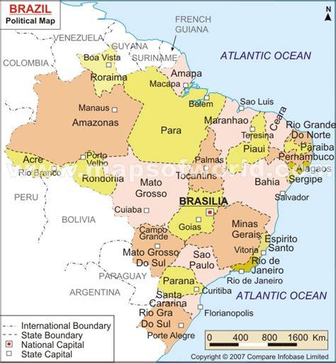brazil city map brazil map and brazil satellite images