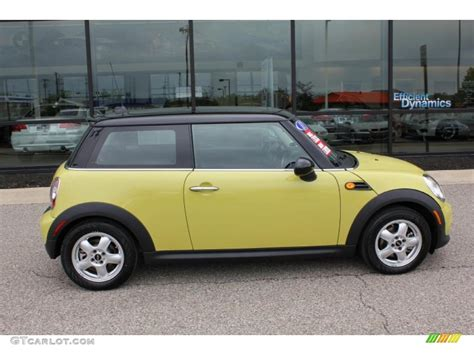Mini Cooper Yellow by Interchange Yellow 2011 Mini Cooper Hardtop Exterior Photo