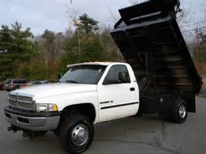 Dodge Dump Truck For Sale Used 2002 Dodge Ram 3500 St Regular Cab 4x4 Chassis Dump