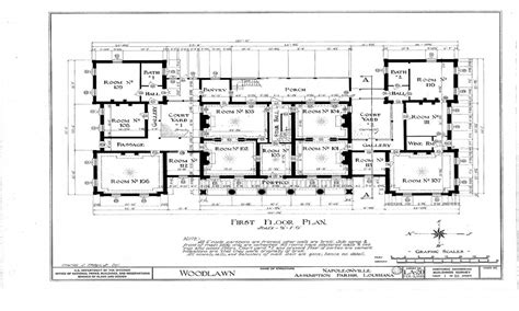 historical floor plans historic plantation floor plans belle grove plantation