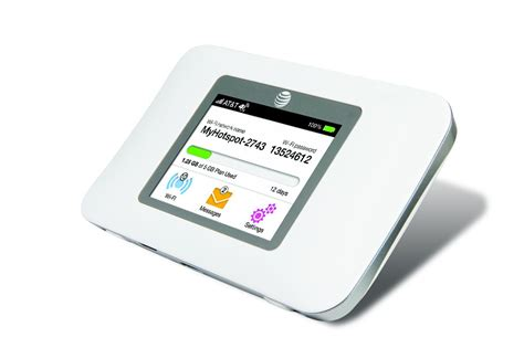 mobile hotspot at t intros lte mobile hotspot with the unite