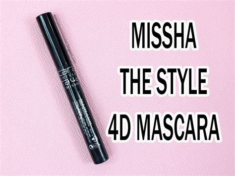 Missha 4d Style Mascara skincare and makeup reviews tutorials and hacks review