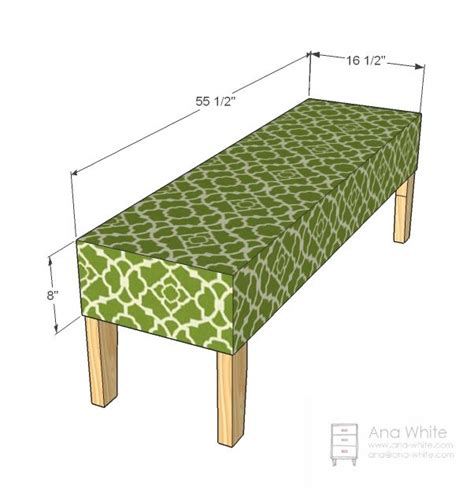 bed bench plans 1000 ideas about upholstered bench on pinterest diy