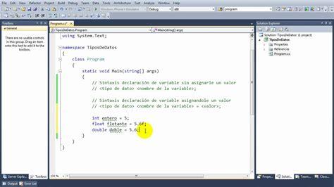 pedir cadenas en c lecci 243 n 2 c declaraci 243 n de variables tipos de datos
