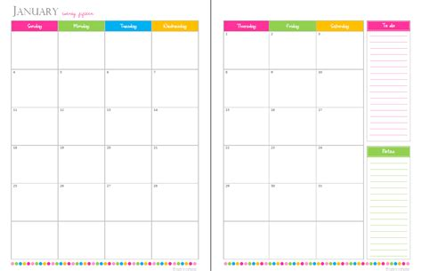 blank calendar template with picture space 2014 calendar printable w space to write autos post