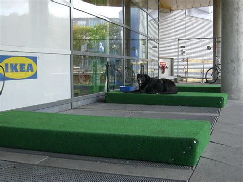 ikea dog parking ikea provides dog parking for shoppers with pets psfk