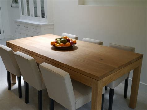 hidden kitchen table shadowline kitchen table with hidden drawers london by