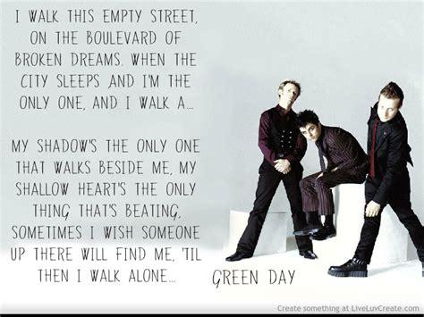 boulevard of broken dreams green day karoke cocobertyl blog
