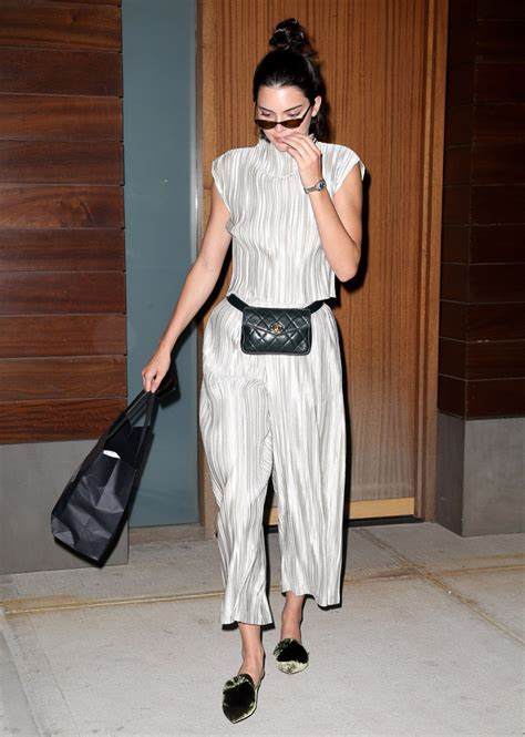 Waist Bag Gucci Nagita 7735 Mc kendall jenner really embraced floral with look footwear news