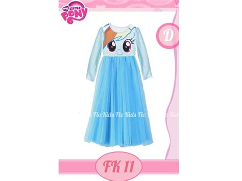 Dress Import Anak jual dress anak import pony umur 3 4 5 tahun