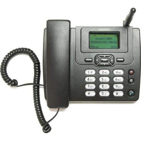 huawei ets 3125i gsm telephone set black shopping24bd
