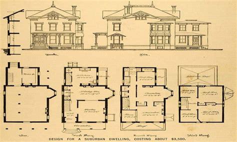 victorian mansion plans vintage victorian house plans authentic vintage house
