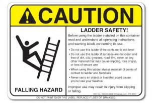 Osha Requirements For Handrails Ladder Safety Requirements Sticker H H H Incorporated