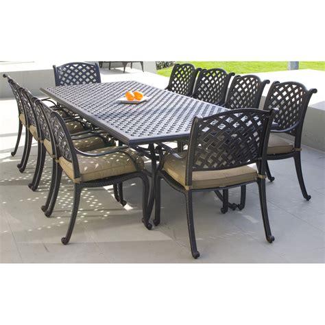 nassau outdoor furniture cast aluminium chair nassau collection inspired