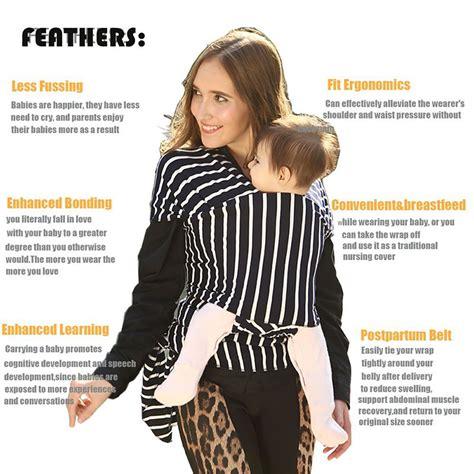 Gendongan Bayi Carrier tas gendongan bayi baby wrap sling carrier black