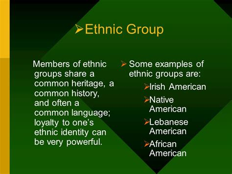 exle of ethnicity culture and the culture learning process ppt